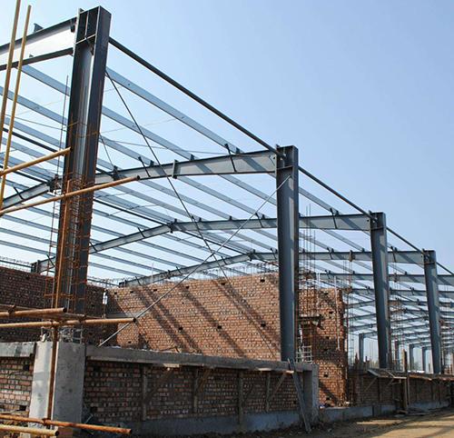 湖北钢结构厂房安装