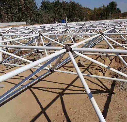 潜江钢结构网架安装
