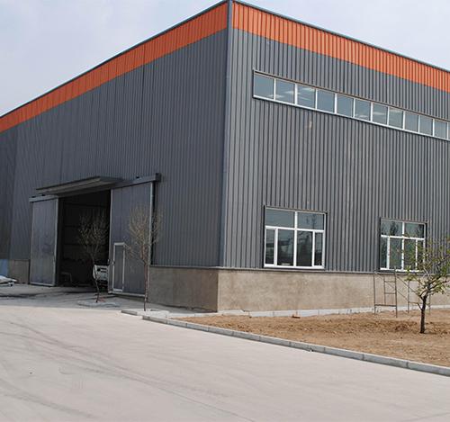湖北钢结构厂房工程案例